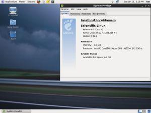 Scienific Linux 6.5